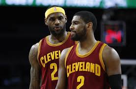 kyrie and bron